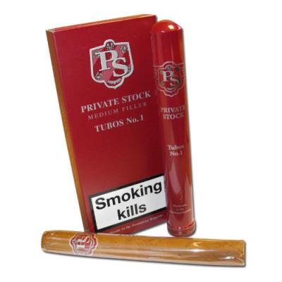 Сигары Private Stock Medium Filler No1 Tubos 3