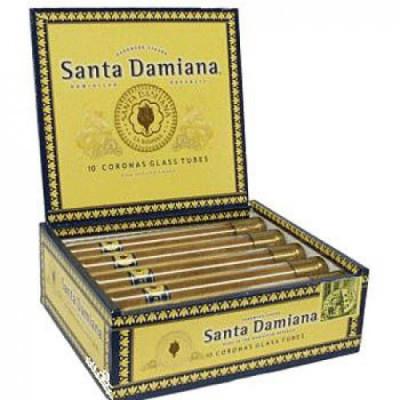 Сигары Santa Damiana Corona Glass Tube