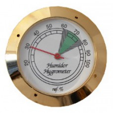 Гигрометр механический Gold 43 мм