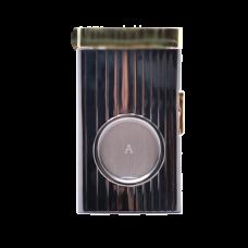 Гильотинка для сигар хром/золото