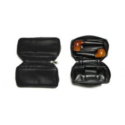 Сумка Brebbia для двух трубок черная (винил) 1003301