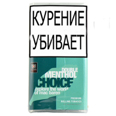 Сигаретный табак Mac Baren Double Menhol Choice