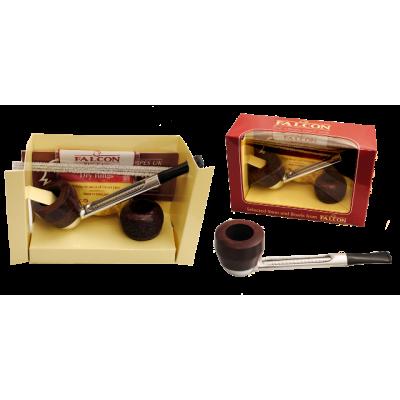 Трубка Falkon 6216111 прямая, набор, 2 чашки, 3 ерша