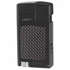 Зажигалка Xikar 523 Forte Carbon Fiber Black BKCF